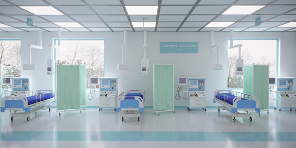 Emergency Services Occupation「Intensive Care Unit In The Hospital」:スマホ壁紙(12)
