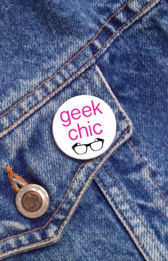Cool Attitude「Geek chic button badge」:スマホ壁紙(3)