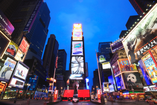 Billboard「New York City, Times Square at dusk」:スマホ壁紙(10)