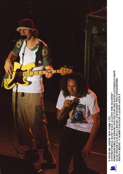 Tim P「Controversial Band Rage Against The Machine Performs Free Outd」:写真・画像(5)[壁紙.com]
