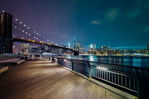 Manhattan - New York City「New York City - Brooklyn Bridge」:スマホ壁紙(19)