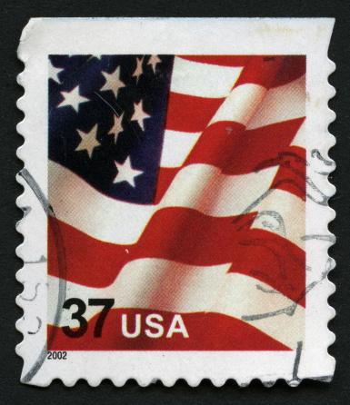 Postage Stamp「American Flag」:スマホ壁紙(12)