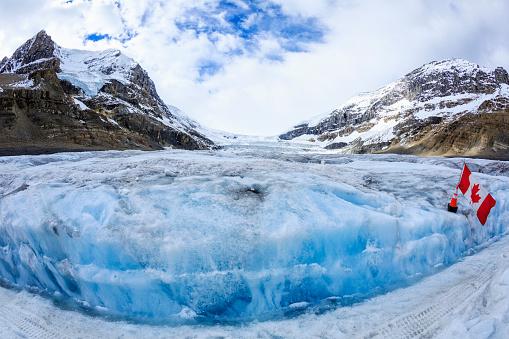 コロンビア大氷原「Athabasca Glacier Alberta Canada」:スマホ壁紙(15)