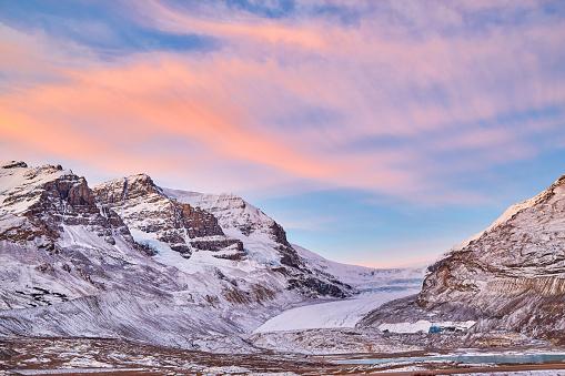 コロンビア大氷原「Athabasca Glacier,Alberta,Canada」:スマホ壁紙(1)