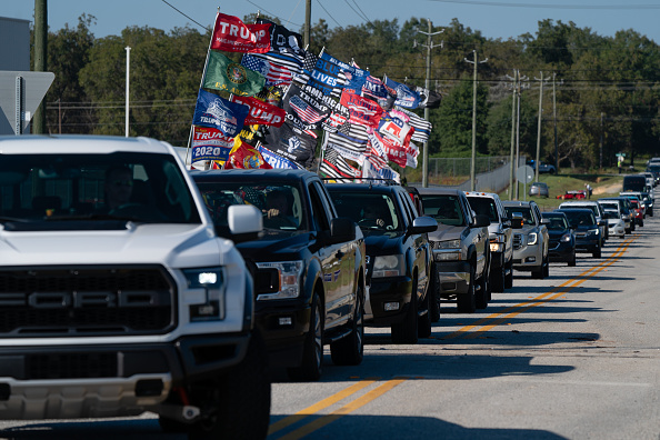 Mode of Transport「Donald Trump Holds MAGA Campaign Rally In Macon, GA」:写真・画像(5)[壁紙.com]