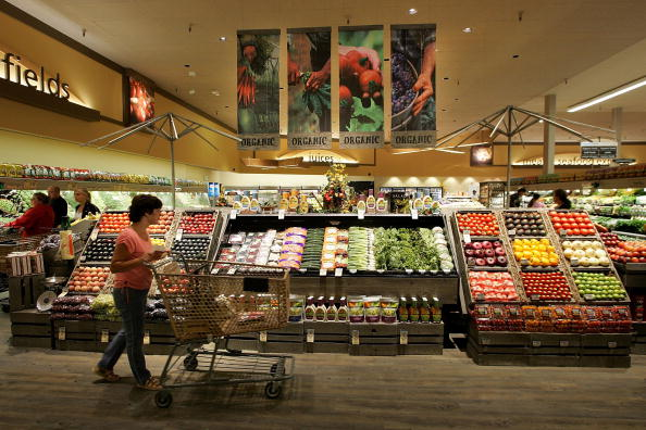 Supermarket「New Safeway Opens With Focus On Organic Goods」:写真・画像(1)[壁紙.com]