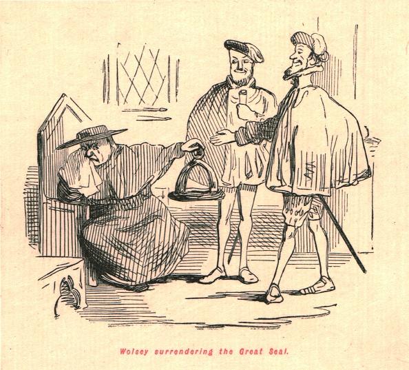 Surrendering「Wolsey Surrendering The Great Seal」:写真・画像(5)[壁紙.com]