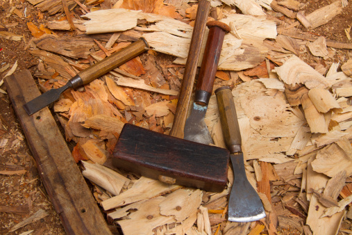 Carpentry「Oman, Sur, shipyard, hammer and chisels」:スマホ壁紙(9)