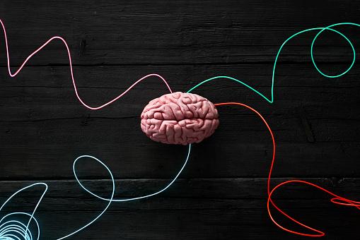Big Data「Wired brain, symbol for deep learning」:スマホ壁紙(5)