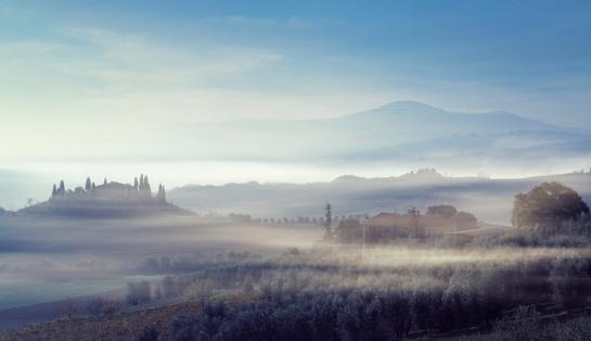 Monte Amiata「Farm in Tuscany」:スマホ壁紙(9)
