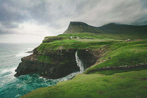 Danish Culture「mulafossur waterfall, faroe islands」:スマホ壁紙(12)