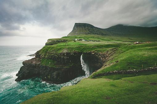 Danish Culture「mulafossur waterfall, faroe islands」:スマホ壁紙(13)