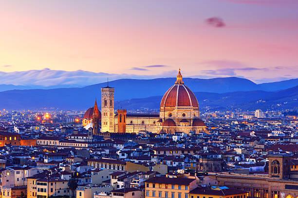 Florence Cityscape and Duomo Santa Maria Del Fiore:スマホ壁紙(壁紙.com)