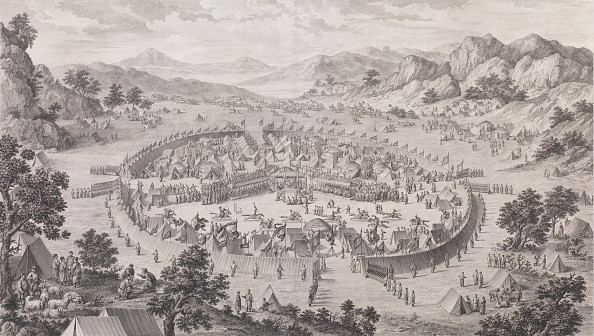Surrendering「The Surrender Of The Khan Of Badakhsan」:写真・画像(7)[壁紙.com]