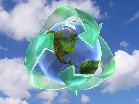 Waste Management「Recycle Globe」:スマホ壁紙(15)