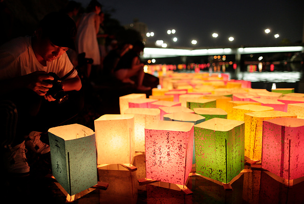 Floating Candle「Hiroshima Marks the 71st Anniversary of Atomic Bombing」:写真・画像(8)[壁紙.com]