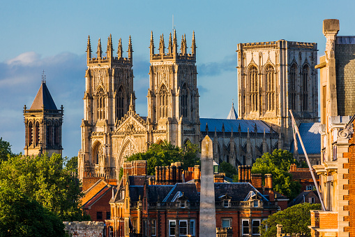 Cathedral「View of York Minster (Cathedral) from the walls」:スマホ壁紙(13)