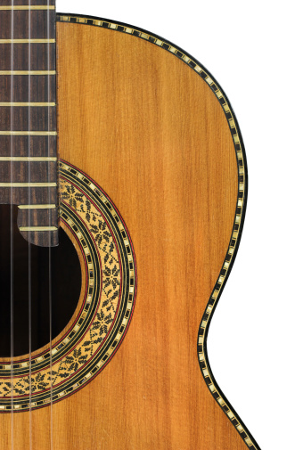 Hole「Classical Guitar on White」:スマホ壁紙(5)