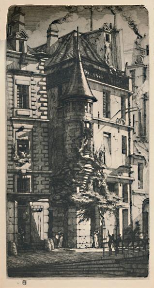 Light Effect「Tourelle De La Rue De La Tixéranderie 2Nd State」:写真・画像(15)[壁紙.com]
