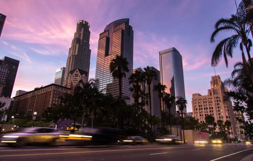 City Of Los Angeles「Pershing Square Traffic」:スマホ壁紙(12)