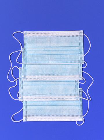 Allergy Medicine「Group of disposable face masks」:スマホ壁紙(4)