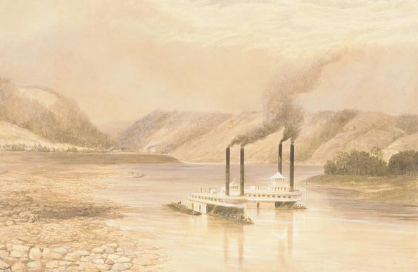 Passenger Craft「The Ohio River Near Wheeling」:写真・画像(11)[壁紙.com]