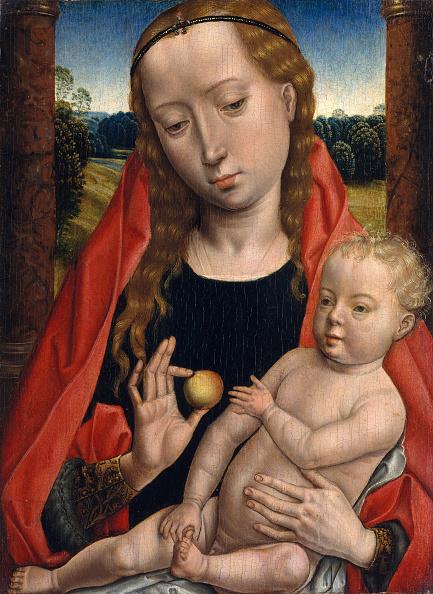 Virgin Mary「Virgin And Child. Creator: Unknown.」:写真・画像(1)[壁紙.com]
