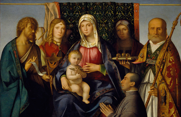 Virgin Mary「Virgin And Child With Saints And A Donor」:写真・画像(0)[壁紙.com]