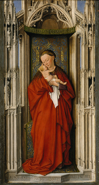Virgin Mary「Virgin And Child In A Niche」:写真・画像(15)[壁紙.com]
