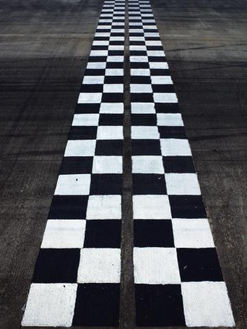 Motorsport「Black and white finish line」:スマホ壁紙(7)