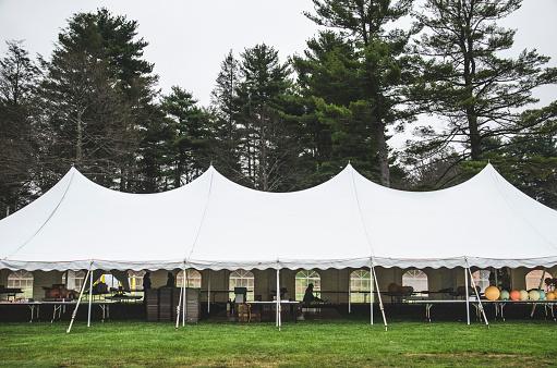 Entertainment Tent「Wedding Tent on Grass Beneath Trees」:スマホ壁紙(10)