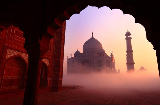 Taj mahal, Agra, India:スマホ壁紙(壁紙.com)