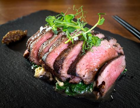 Ketogenic Diet「Beef Tataki slices」:スマホ壁紙(3)
