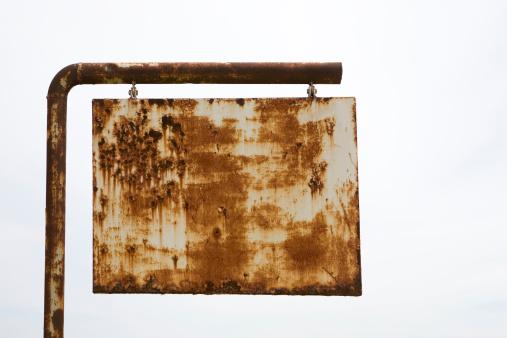 Rusty「Rusted road sign」:スマホ壁紙(14)