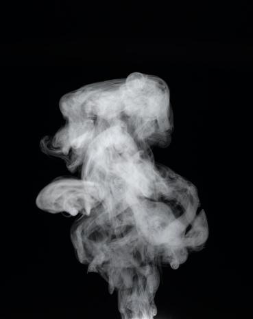 Steam「Vapour rising against dark background」:スマホ壁紙(4)
