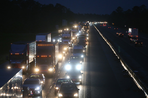 Traffic「Gulf Coast Prepares For Hurricane Delta」:写真・画像(3)[壁紙.com]