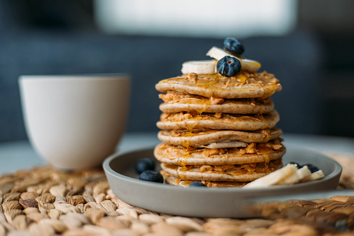 Dessert「Homemade Pancakes」:スマホ壁紙(10)