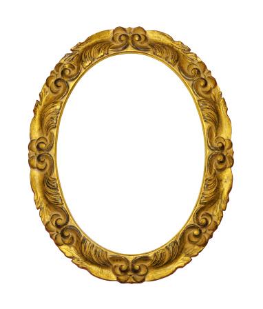 Carving - Craft Product「Gilded Wooden Frame」:スマホ壁紙(5)