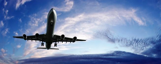 Approaching「XL jet airplane landing」:スマホ壁紙(18)