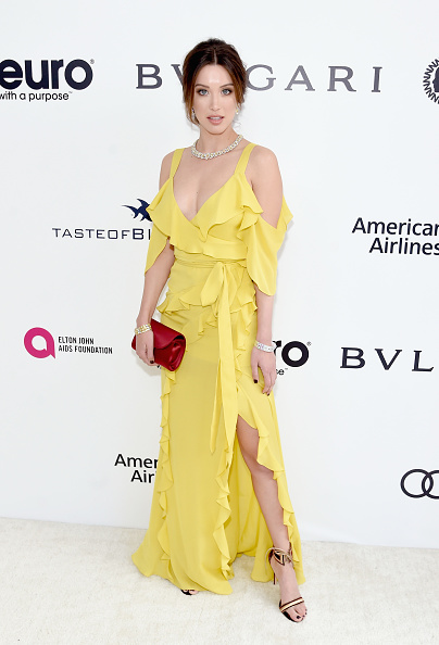 Yellow「25th Annual Elton John AIDS Foundation's Academy Awards Viewing Party - Red Carpet」:写真・画像(15)[壁紙.com]