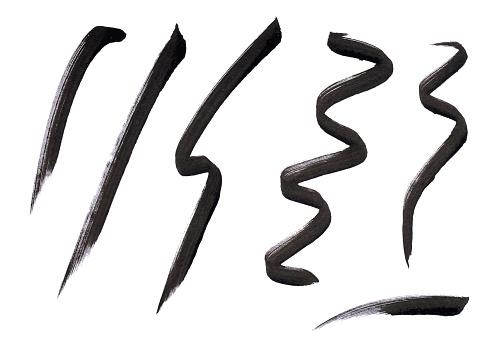 Girly「A close-up beauty image of black eye liner」:スマホ壁紙(2)