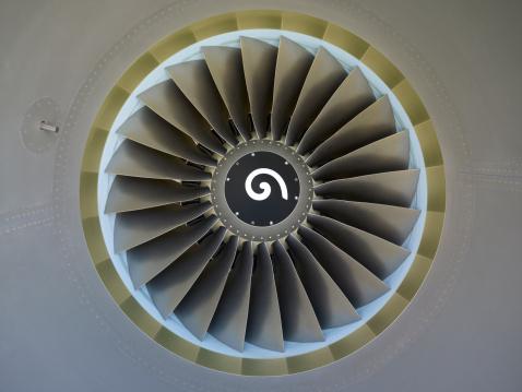 Commercial Airplane「Airplane engine」:スマホ壁紙(17)