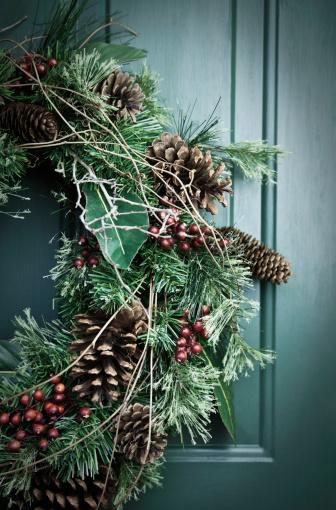 Front Door「Holiday Wreath」:スマホ壁紙(4)