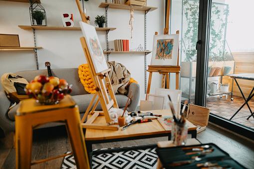 New York State「Artistic apartment」:スマホ壁紙(0)