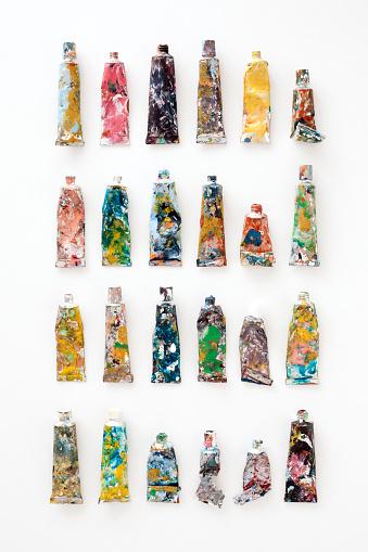 Number「Paint tubes」:スマホ壁紙(2)
