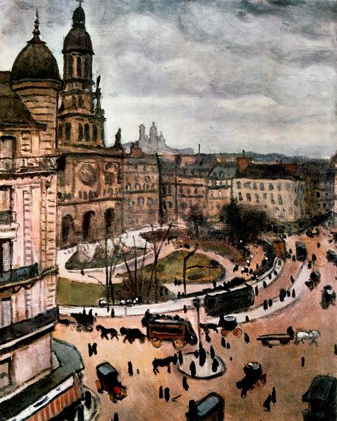 Overcast「Place De La Trinity In Paris」:写真・画像(2)[壁紙.com]