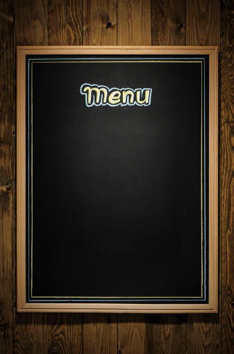 Chalk - Art Equipment「Blank menu」:スマホ壁紙(5)