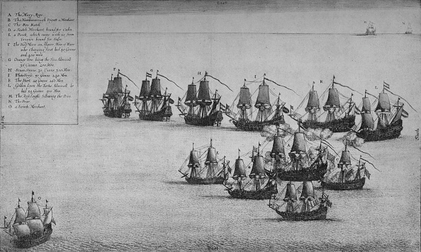 17th Century「The Fight of the Mary Rose」:写真・画像(2)[壁紙.com]