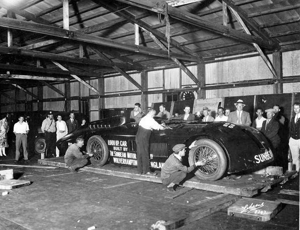 Effort「Sunbeam 1000hp World Land speed record attempt at Daytona 1927」:写真・画像(0)[壁紙.com]
