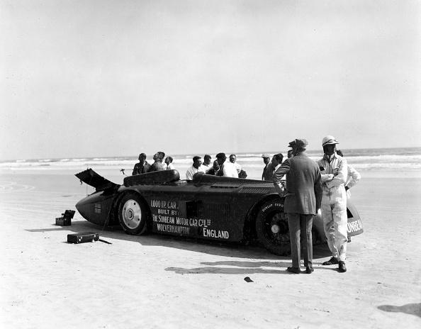 Effort「Sunbeam 1000hp World Land speed record attempt at Daytona 1927」:写真・画像(3)[壁紙.com]